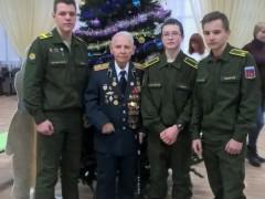 ЮнАрмейский отряд Ярославского ВВУПВО с поздравлением в ЯОГЦ